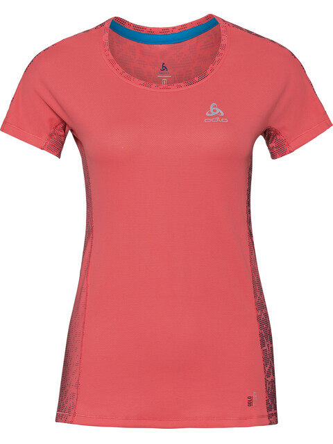 Odlo Omnius Print Crew Neck SS Shirt Women dubarry-AOP SS18